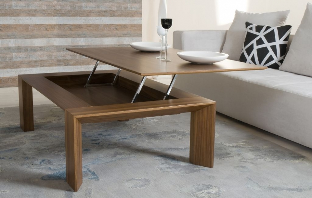 Living Room Table Flat